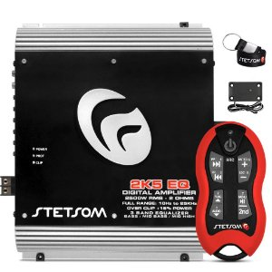 Modulo Stetsom 2k5 EQ 3200w Rms + Controle Stetsom SX2