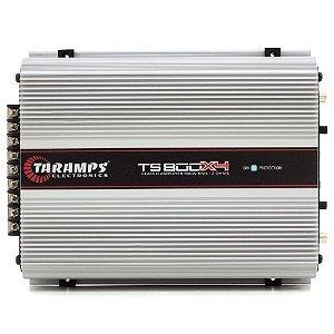 Módulo Amplificador Taramps Ts800 x4 Compact 4 canais