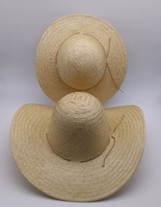 b541d9032cf9d kit 2 chapéu caranda pantaneiro de palha de carnaúba 1 chapéu adulto