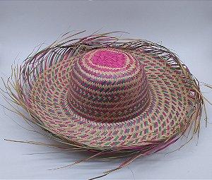 chapéu de palha junino desfiado colorido adulto kit 35 unidades 9052d146a9c
