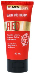BALM PÓS-BARBA RED 60mL