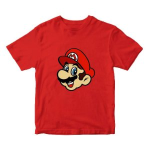 Camiseta do Super Mário - Super NIntendo - Games