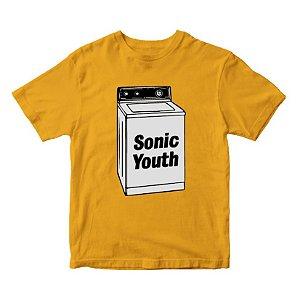 Camiseta Sonic Youth - Amarela - Música