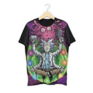 Camiseta Rick and Morty em Sublimação Total - Séries