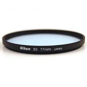 Filtro Nikon 77mm B2 para Correção de Cor