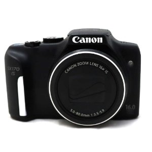 Câmera Canon PowerShot SX170 IS Usada