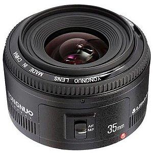 Lente Yongnuo EF 35mm f/2 para Canon Seminova