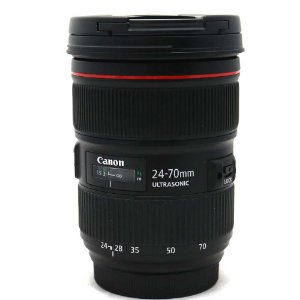 Lente Canon EF 24-70mm f/2.8L II USM Seminova