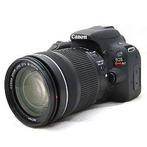 Câmera Canon EOS Rebel SL2 com Lente 18-135mm IS STM Seminova