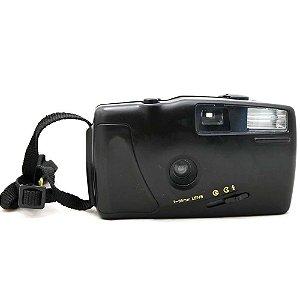 Câmera Analógica Saboneteira Preta Usada