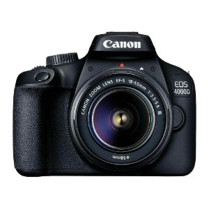 Câmera Canon EOS 4000D Rebel T100 Kit EF-S 18-55mm DC III Versão Europeia
