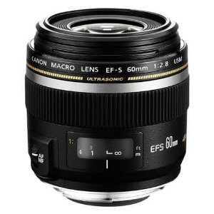 Lente Canon EF-S 60mm Macro f/2.8 USM Macro Objetiva