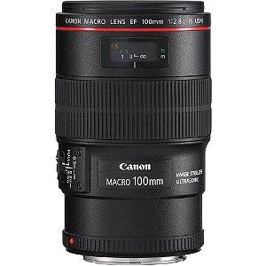 Lente Canon EF 100mm f/2.8L IS USM Macro Ultrasonic