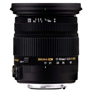 Lente Sigma 17-50mm f/2.8 EX DC OS HSM para Nikon