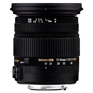 Lente Sigma 17-50mm f/2.8 EX DC OS HSM para Canon