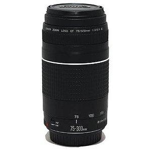 Lente Canon EF 75-300mm f/4-5.6 III Objetiva