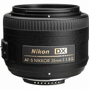 Lente Nikon AF-S DX 35mm f/1.8G Objetiva