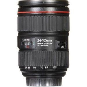 Lente Canon EF 24-105mm f/4.0 L IS II USM