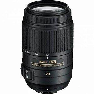 Lente Nikon AF-S DX 55-300mm f/4.5-5.6G ED VR