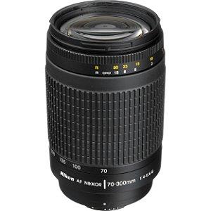Lente Nikon Nikkor AF Zoom 70-300mm f/4-5.6G