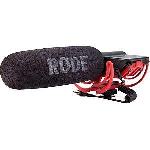 Microfone Direcional Shotgun Rode Videomic Rycote com Sistema de Suspensão