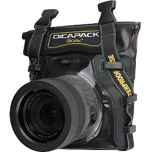 Capa Aquática Impermeável Dicapac WP-S5 Para Câmeras DSLR Pequenas