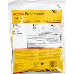 Revelador Kodak Dektol de 3,8 Litros