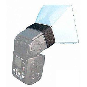 Difusor Embafoto Transparente Universal para Flash