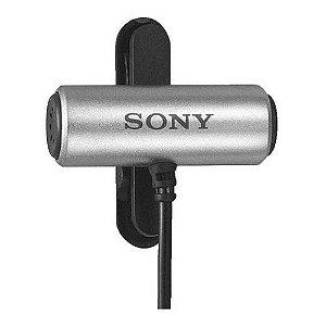Microfone de Lapela Com Fio Sony ECM-CS3
