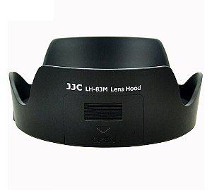 Parasol JJC LH-83M para Canon 24-105 IS STM Substitui Canon EW-83M