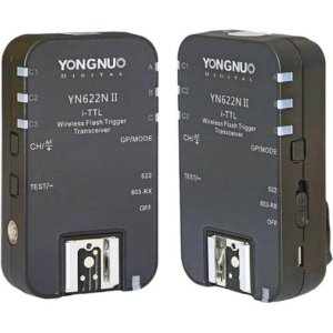Rádio Flash TTL Yongnuo YN-622N II para Nikon