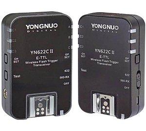 Rádio Flash TTL Yongnuo YN-622C II para Canon