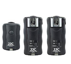 Kit Rádio Flash Wireless JJC JF-U2