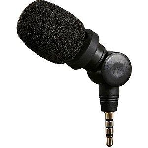 Microfone para iOS Condensador Profissional Saramonic SmartMic
