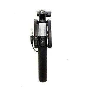 Bastão de Selfie Retrátil com Disparador Embutido para Smartphones Greika LS-10