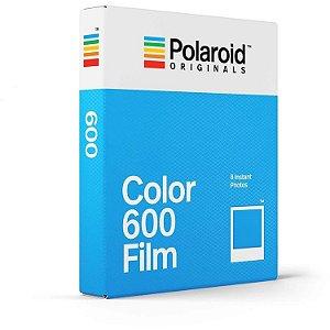 Filme Instantâneo Polaroid 600 8 Fotos Colorido