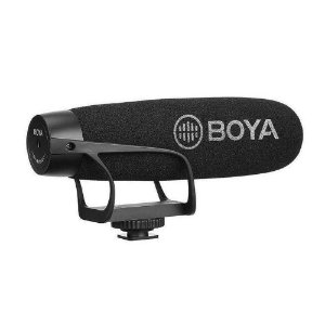 Microfone Boya BY-BM2021 Direcional para Câmeras e Smarphones