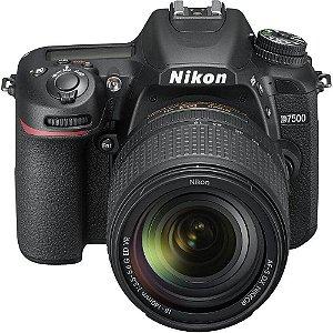 Câmera Nikon D7500 com Kit Lente 18-140mm