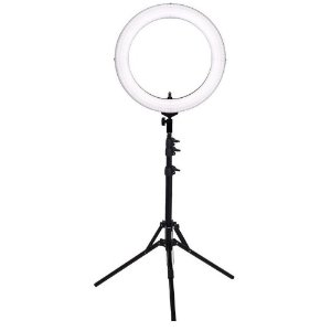 Iluminador Ring Light Easy RL 12 com Tripé