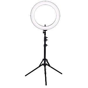 Iluminador Ring Light Easy RL 18 com Tripé