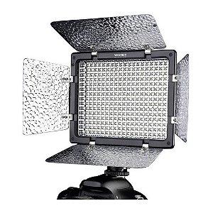 Iluminador de LED Yongnuo YN300 III com Bateria e Carregador