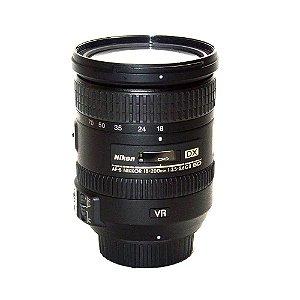 Lente Nikon AF-S DX NIKKOR 18-200mm f/3.5-5.6G ED VR II Seminova