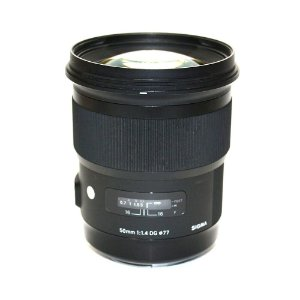 Lente Sigma Art 50mm f/1.4 DG HSM para Canon Seminova