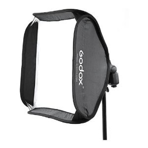 Softbox para Speedlight Godox SFUV 60x60cm