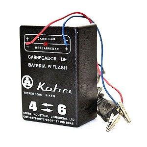 Carregador de Bateria Kohm