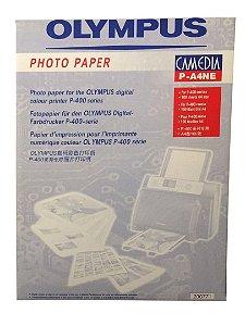 Papel Fotográfico Olympus Camedia P-A4NE 100 Folhas