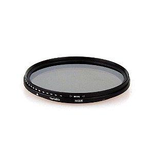 Filtro ND Variável 2-400 Greika 49mm