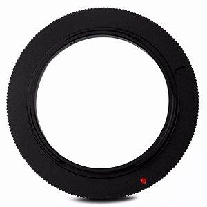Anel Reversor de Lente Canon JJC RR EOS 58mm