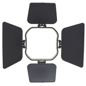Mini Barndoor para Flash Speedlite