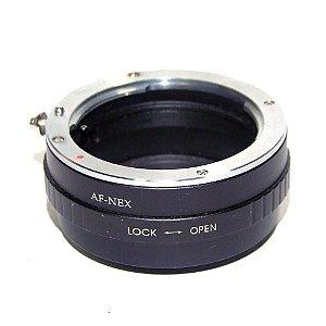 Anel Adaptador de Lentes Sony Alpha Mount A para Câmera Sony Nex Usado